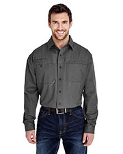 Dri Duck 4342 Men's Mason Long-Sleeve Work Shirt at GotApparel