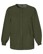 Scrub HQ 4350 Women Snap Front Warm-Up Jacket at GotApparel