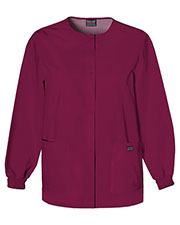 Scrub HQ 4350 Women Snap Front Warm-Up Jacket at GotApparel