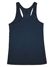 Badger 4366  Ladies Pro Heather Racerback Performance Tank at GotApparel
