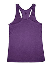 Badger 4366 Women Pro Heather Racerback Tank at GotApparel