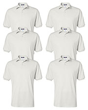 Jerzees 437 Men 5.6 Oz. 50/50 Jersey Polo With Spotshield 6-Pack at GotApparel