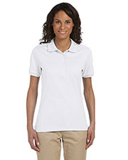 Jerzees 437W Women's 5.6 oz., 50/50 Jersey Polo with SpotShield™ at GotApparel