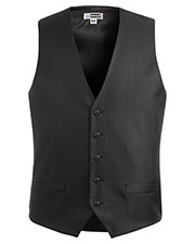 Edwards 4390 Men Diamond Brocade Vest at GotApparel