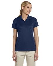 Jerzees 441W Women 4.1 oz., 100% Polyester Micro Pointelle Mesh SPORT Moisture-Wicking Polo at GotApparel