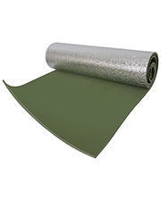 Rothco 4422  Thermal Reflective Od Sleeping Pad W/ Ties at GotApparel