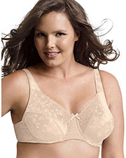 Playtex 4422 Women Secrets Signature Florals Fuller Underwire Bra at GotApparel