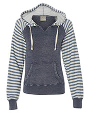 Mv Sport W15106  Wos Angel Fleece Sanded Piper Pullover at GotApparel
