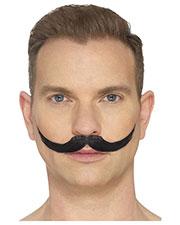 Smiffys 44702 Men The English Moustache, Black at GotApparel