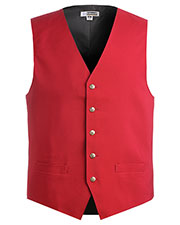 Edwards 4490 Men Economy V-Neck Vest at GotApparel