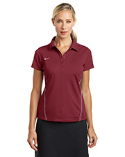 Custom Embroidered New Era 452885 Women Nike Golf Dri-FIT Sport Swoosh Pique Polo at GotApparel