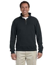 Jerzees 4528 Men 9.5 oz., 50/50 Super Sweats NuBlend Fleece Quarter-Zip Pullover at GotApparel