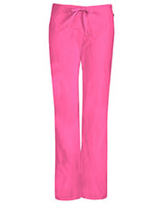 Code Happy 46002A Women's Mid-Rise Flare Leg Drawstring Scrub Pant at GotApparel