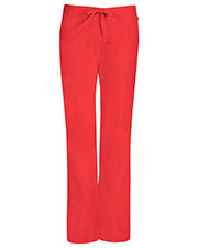 Code Happy 46002ABP Women's Mid Rise Moderate Flare Drawstring Pant Petite at GotApparel