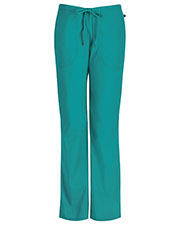 Code Happy 46002ABT Women's Mid Rise Moderate Flare Drawstring Pant Tall at GotApparel