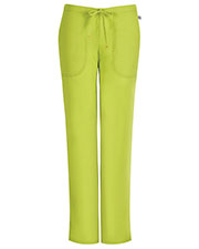 Code Happy 46002AP Women's Mid Rise Moderate Flare Drawstring Pant Petite at GotApparel