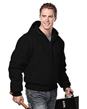Tri-Mountain 4600 Men's Timberline Cotton Canvas Hooded Work Jacket at GotApparel