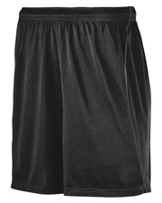 Augusta 460 Men Wicking Soccer Short With Piping at GotApparel