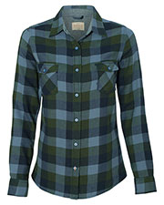 Weatherproof W164761  Vintage Wos Brushed Flannel Long Sleeve Shirt at GotApparel