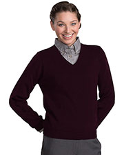 Edwards 465 Women's Acrylic V-Neck Sweater at GotApparel
