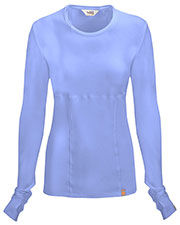 Code Happy 46608A Women's Round Neck Long-Sleeve Knit T-Shirt at GotApparel