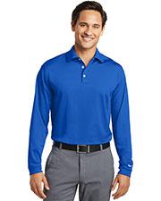 Nike 466364 Men 5 oz Long Sleeve Dri-FIT Stretch Tech Polo at GotApparel