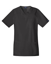 Cherokee Workwear 4701 Unisex Tall V-Neck Top Tunic at GotApparel