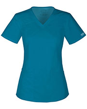 Cherokee Workwear 4710 Women's V-Neck Top at GotApparel