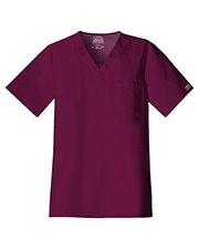 Cherokee Workwear 4743 Men V-Neck Top at GotApparel