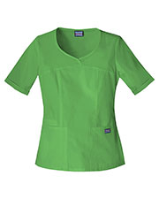 Cherokee Workwear 4746 Women V-Neck Top at GotApparel