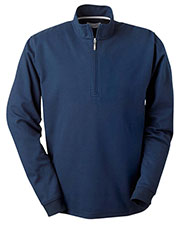 Ashworth 4747C Men Micro Brushed HalfZip Jacket at GotApparel