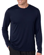 Hanes 482L Adult 4 oz Cool DRI with FreshIQ Long-Sleeve Performance T-Shirt at GotApparel