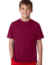 Hanes 482Y Boys 4 OZ COOL DRY SHORT SLEEVE TEE at GotApparel