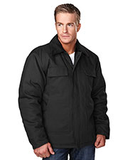 Tri-Mountain 4900 Men's Canyon Cotton Canvas Work Jacket at GotApparel