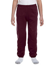 Jerzees 4950BP Kids 9.5 oz., 50/50 Super Sweats NuBlend Fleece Pocketed Sweatpants at GotApparel