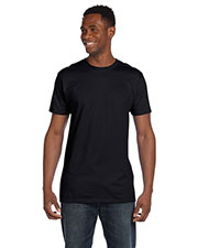 Hanes 4980 Men 4.5 Oz. 100% Ringspun Cotton Nano-T  T-Shirt at GotApparel