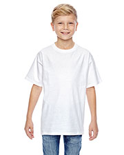Hanes 498Y Boys 4.5 oz., 100% Ringspun Cotton nano-T T-Shirt at GotApparel