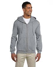 Jerzees 4999 Men 9.5 Oz. 50/50 Super Sweats Nublend Fleece Full-Zip Hood at GotApparel