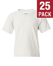 Gildan G500B Boys Heavy Cotton 5.3 Oz. T-Shirt 25-Pack at GotApparel