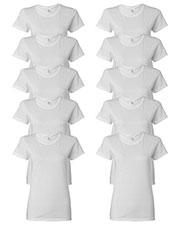 Gildan G500L Women Heavy Cotton 5.3 Oz. Missy Fit T-Shirt 10-Pack at GotApparel