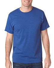 Bayside 5010 Adult Heather RingSpun Jersey Tee at GotApparel