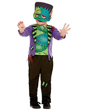 Smiffys 50793T2 Toddler Monster Costume, Green at GotApparel