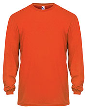 Badger 5104  C2 Basic Perf L/S Tee at GotApparel
