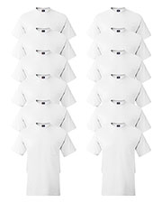 Hanes 5190P Men 6.1 Oz. Beefy-Tee  With Pocket 12-Pack at GotApparel