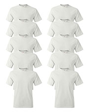Hanes 5250T Men 6.1 Oz. Tagless  T-Shirt 10-Pack at GotApparel