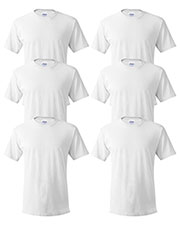 Hanes 5280 Unisex 5.2 Oz. Comfort Soft Cotton T-Shirt 6-Pack at GotApparel