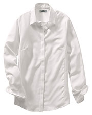 Edwards 5291 Women's Long-Sleeve Batiste Cafe Blouse at GotApparel