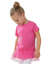 Rabbit Skins 5322 Toddlers Tutu Tunic at GotApparel