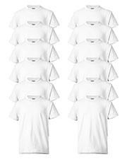 Hanes 5370 Boys 5.2 Oz. 50/50 Comfort Blend Eco Smart T-Shirt 12-Pack at GotApparel