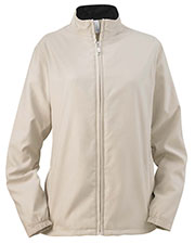 Ashworth 5401C Women Full-Zip Lined Wind Jacket at GotApparel